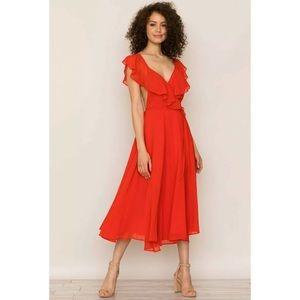 New Yumi Kim Bouquet Wrap Dress